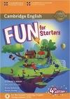 Fun For Starters SB. +Audio +Online Activities 4Th E.