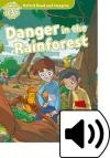 Danger In The Rainforest (Read and Imagine - 3) Book+Cd