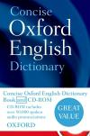 Concise Oxford English Dictionary Book/Cd-Rom Set(2011) 12E*