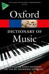 The Concise Oxford Dictionary of Music 6E *