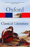 Oxford Concise Companion To Classical Literature