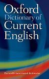 Oxford Dictionary of Current English 4/E *