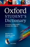 Oxford Students' Dictionary With Cd-Rom* 3Rd Ed. (2013)