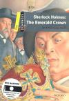 Sherlock Holmes: The Emerald Crown+Cd (Dominoes One)* New Ed