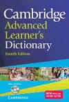 Cambridge Advanced Learner's Dictionary PB.+Cd-Rom 4Th Ed.