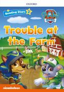 PAW TROUBLE AT THE FARM PK (Reading Stars 2)
